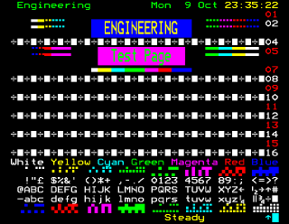 Teletext test page